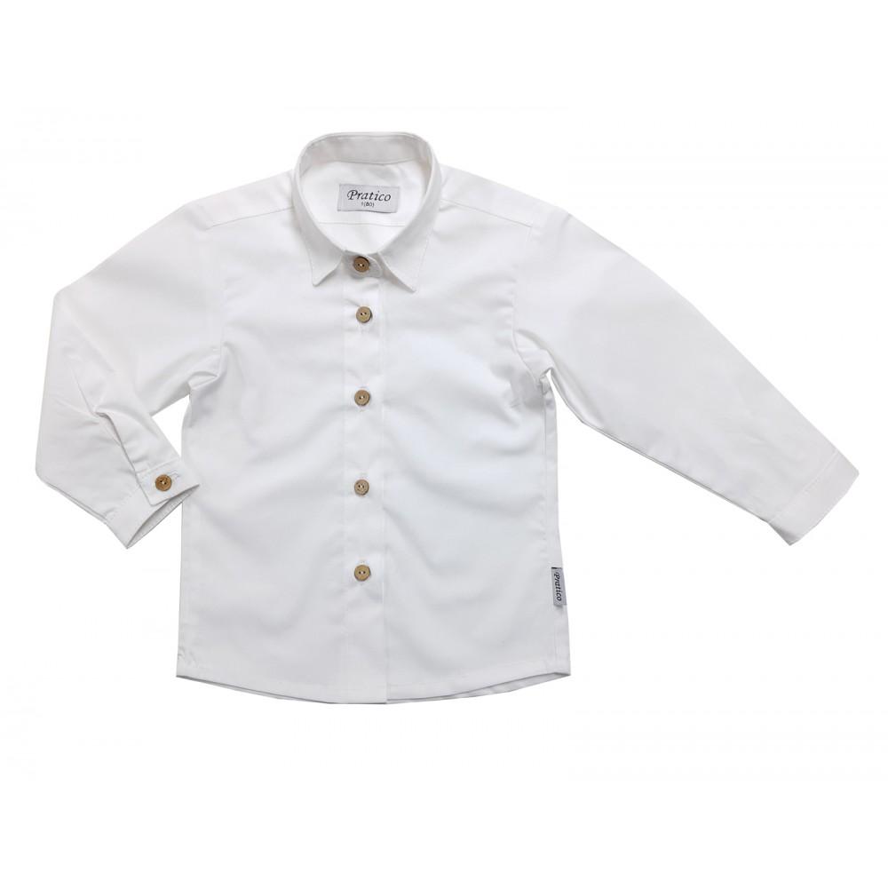 Bela košulja za male devojčice