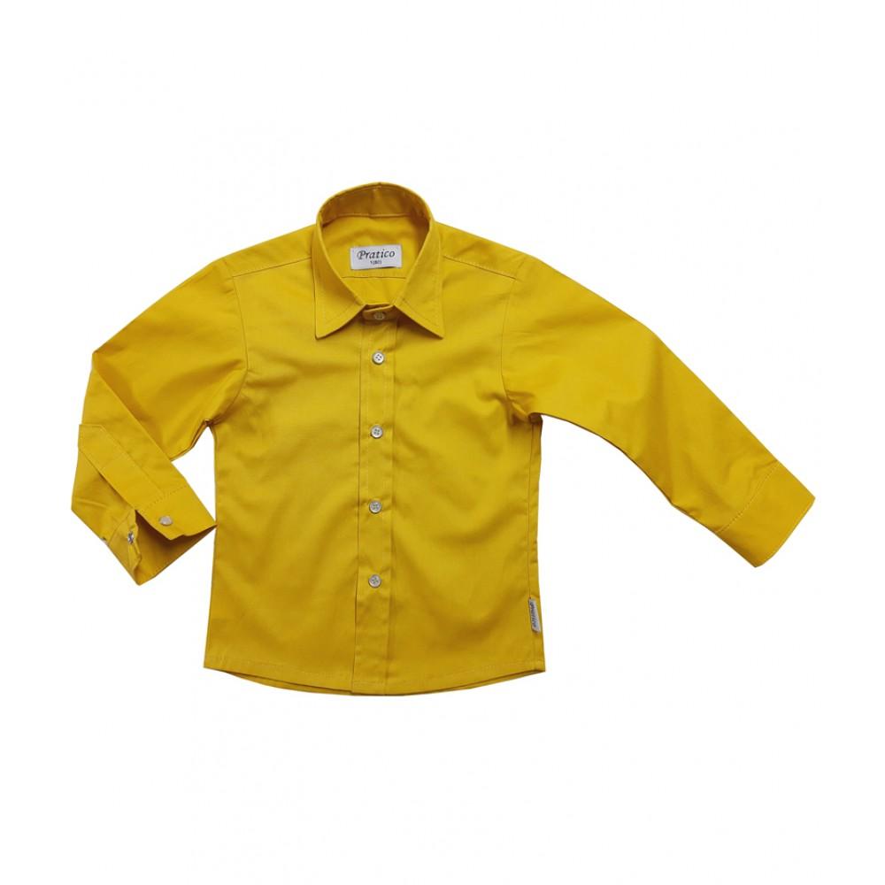 Žuta dečija košulja