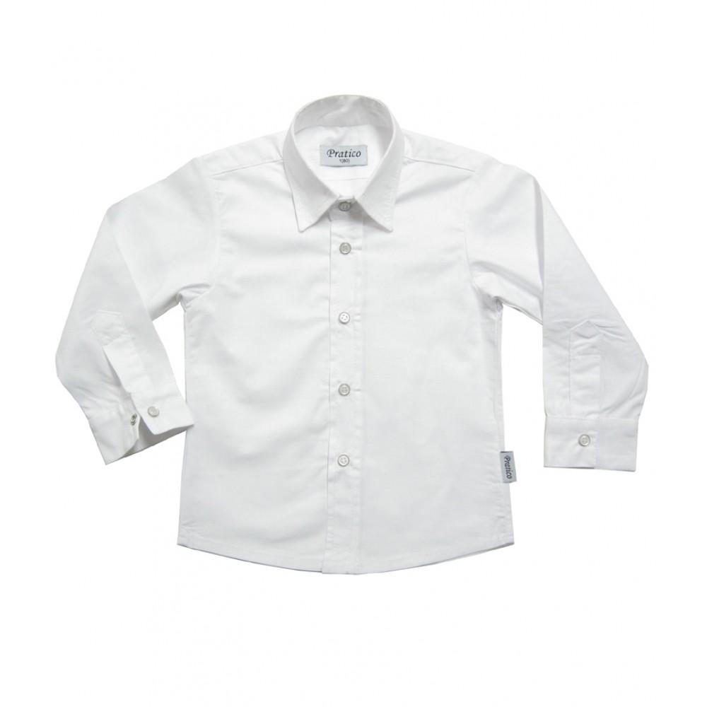 Bela dečija košulja