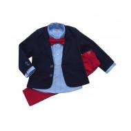 Teget/plavo/crveni dečiji komplet
